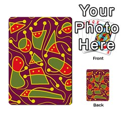 Playful decorative abstract art Multi-purpose Cards (Rectangle)