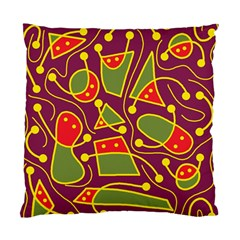 Playful decorative abstract art Standard Cushion Case (Two Sides)
