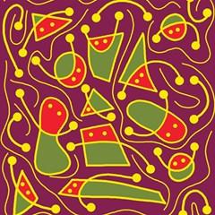 Playful decorative abstract art Magic Photo Cubes