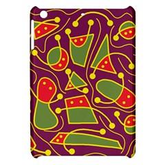 Playful decorative abstract art Apple iPad Mini Hardshell Case