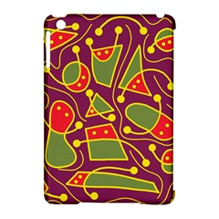 Playful decorative abstract art Apple iPad Mini Hardshell Case (Compatible with Smart Cover)