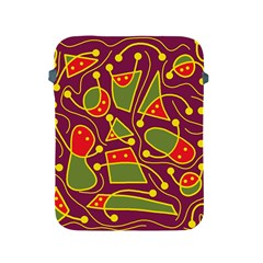 Playful decorative abstract art Apple iPad 2/3/4 Protective Soft Cases