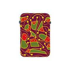 Playful decorative abstract art Apple iPad Mini Protective Soft Cases