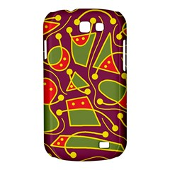 Playful decorative abstract art Samsung Galaxy Express I8730 Hardshell Case