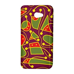 Playful decorative abstract art HTC Butterfly S/HTC 9060 Hardshell Case