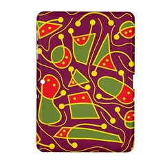 Playful decorative abstract art Samsung Galaxy Tab 2 (10.1 ) P5100 Hardshell Case