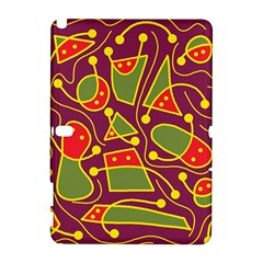 Playful decorative abstract art Samsung Galaxy Note 10.1 (P600) Hardshell Case