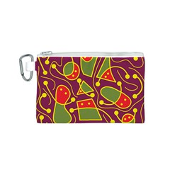 Playful decorative abstract art Canvas Cosmetic Bag (S)