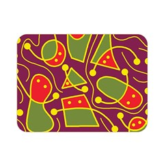 Playful decorative abstract art Double Sided Flano Blanket (Mini)