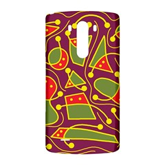 Playful decorative abstract art LG G3 Back Case