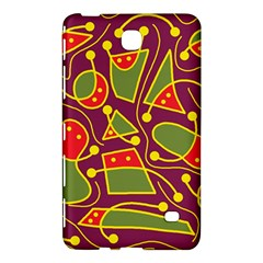 Playful decorative abstract art Samsung Galaxy Tab 4 (7 ) Hardshell Case