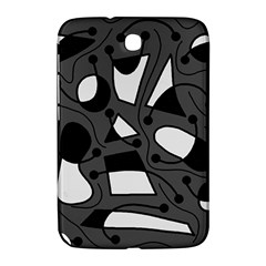 Playful abstract art - gray Samsung Galaxy Note 8.0 N5100 Hardshell Case