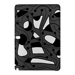 Playful abstract art - gray Samsung Galaxy Tab Pro 12.2 Hardshell Case