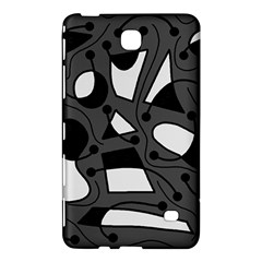 Playful abstract art - gray Samsung Galaxy Tab 4 (8 ) Hardshell Case