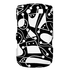 Playful abstract art - Black and white Torch 9800 9810