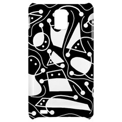 Playful abstract art - Black and white Samsung Infuse 4G Hardshell Case