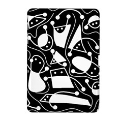 Playful abstract art - Black and white Samsung Galaxy Tab 2 (10.1 ) P5100 Hardshell Case