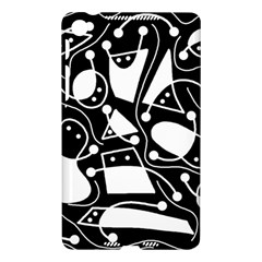 Playful abstract art - Black and white Nexus 7 (2013)