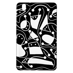 Playful abstract art - Black and white Samsung Galaxy Tab Pro 8.4 Hardshell Case
