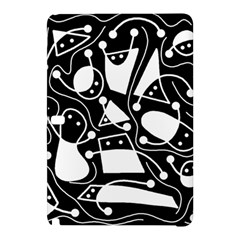Playful abstract art - Black and white Samsung Galaxy Tab Pro 12.2 Hardshell Case