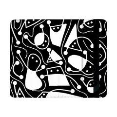 Playful abstract art - Black and white Samsung Galaxy Tab Pro 8.4  Flip Case