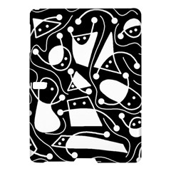 Playful abstract art - Black and white Samsung Galaxy Tab S (10.5 ) Hardshell Case