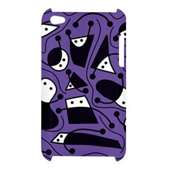 Playful abstract art - purple Apple iPod Touch 4