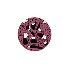 Playful abstraction Golf Ball Marker (10 pack)