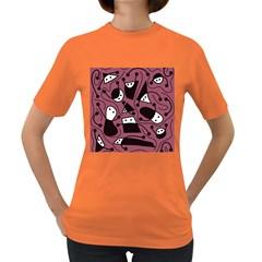 Playful abstraction Women s Dark T-Shirt