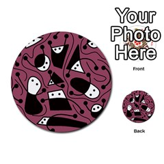 Playful abstraction Multi-purpose Cards (Round)