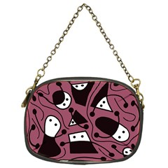 Playful abstraction Chain Purses (One Side)