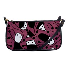 Playful abstraction Shoulder Clutch Bags