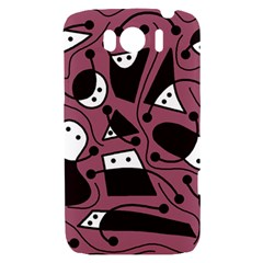 Playful abstraction HTC Sensation XL Hardshell Case