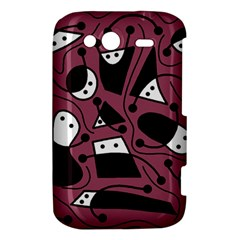 Playful abstraction HTC Wildfire S A510e Hardshell Case