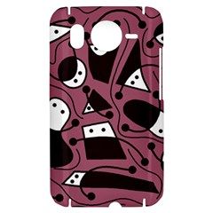 Playful abstraction HTC Desire HD Hardshell Case