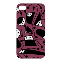 Playful abstraction Apple iPhone 4/4S Premium Hardshell Case