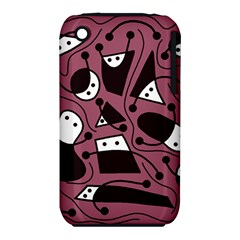 Playful abstraction Apple iPhone 3G/3GS Hardshell Case (PC+Silicone)
