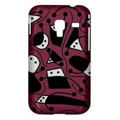 Playful abstraction Samsung Galaxy Ace Plus S7500 Hardshell Case