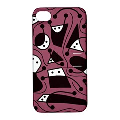 Playful abstraction Apple iPhone 4/4S Hardshell Case with Stand