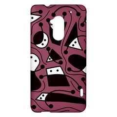 Playful abstraction HTC One Max (T6) Hardshell Case