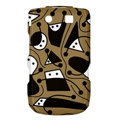 Playful abstract art - Brown Torch 9800 9810