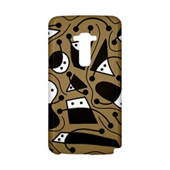 Playful abstract art - Brown LG G Flex