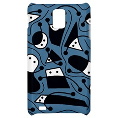Playful abstract art - blue Samsung Infuse 4G Hardshell Case