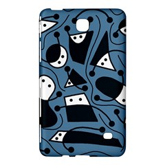 Playful abstract art - blue Samsung Galaxy Tab 4 (8 ) Hardshell Case