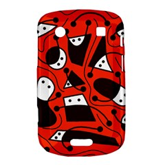 Playful abstract art - red Bold Touch 9900 9930
