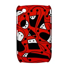Playful abstract art - red Curve 8520 9300