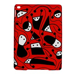 Playful abstract art - red iPad Air 2 Hardshell Cases