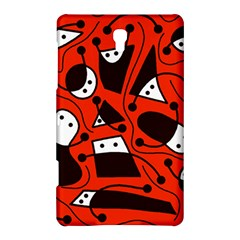 Playful abstract art - red Samsung Galaxy Tab S (8.4 ) Hardshell Case
