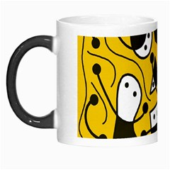 Playful abstract art - Yellow Morph Mugs
