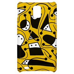 Playful abstract art - Yellow Samsung Infuse 4G Hardshell Case